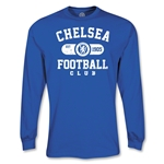 Chelsea LS Distressed T-Shirt (Royal)