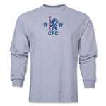 Chelsea Retro Lion LS T-Shirt (Gray)