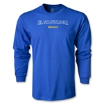 CONCACAF Gold Cup 2013 LS El Salvador T-Shirt (Royal)
