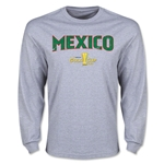 CONCACAF Gold Cup 2015 Mexico Big Logo LS T-Shirt (Grey)