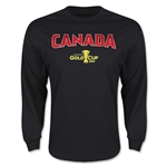 CONCACAF Gold Cup 2015 Canada Big Logo LS T-Shirt (Black)