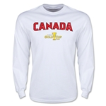 CONCACAF Gold Cup 2015 Canada Big Logo LS T-Shirt (White)