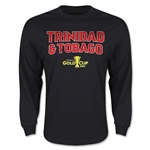 CONCACAF Gold Cup 2015 Trinidad & Tobago Men's Big Logo LS T-Shirt (Black)