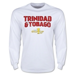 CONCACAF Gold Cup 2015 Trinidad & Tobago Men's Big Logo LS T-Shirt (White)