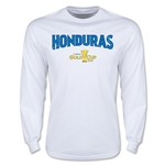 CONCACAF Gold Cup 2015 Honduras Men's Big Logo LS T-Shirt (White)