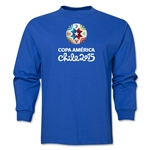 Copa America 2015 Core 1 Portrait LS T-Shirt (Royal)