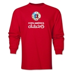 Copa America 2015 Core 1 Portrait LS T-Shirt (Red)