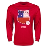 Chile Copa America 2015 Badge Long Sleeve T-Shirt (Red)