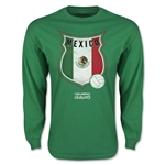 Mexico Copa America 2015 Badge Long Sleeve T-Shirt (Green)