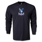 Crystal Palace Men's LS T-Shirt (Black)