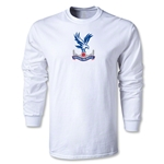 Crystal Palace Men's LS T-Shirt (White)