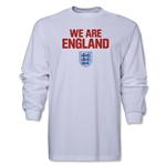 England We Are LS T-Shirt (White)
