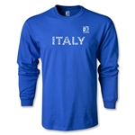 FIFA Confederations Cup 2013 Italy LS T-Shirt (Royal)