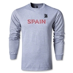 FIFA Confederations Cup 2013 Spain LS T-Shirt (Grey)