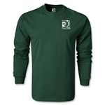 FIFA Confederations Cup 2013 LS Small Emblem T-Shirt (Dark Green)