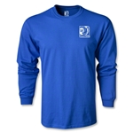 FIFA Confederations Cup 2013 LS Small Emblem T-Shirt (Royal)