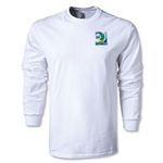 FIFA Confederations Cup 2013 LS Small Emblem T-Shirt (White)