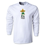 1970 FIFA World Cup Juanito Mascot LS T-Shirt (White)