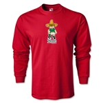 1970 FIFA World Cup Juanito Mascot LS T-Shirt (Red)