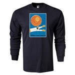 1954 FIFA World Cup Historical Poster Men's Fashion T-Shirt (Black)
