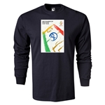 2002 FIFA World Cup Historical Poster Men's Fashion T-Shirt (Black)