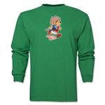 1966 FIFA World Cup Historical Mascot Men's Fashion T-Shirt (Green)