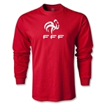 France FFF LS T-Shirt (Red)