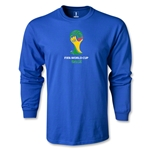 2014 FIFA World Cup Brazil(TM) Emblem LS T-Shirt (Royal)