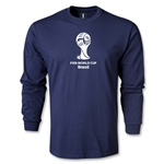 2014 FIFA World Cup Brazil(TM) LS Emblem T-Shirt (Navy)