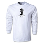 2014 FIFA World Cup Brazil(TM) LS Emblem T-Shirt (White)
