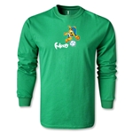 2014 FIFA World Cup Brazil(TM) LS Mascot T-Shirt (Navy)