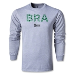 Brazil 2014 FIFA World Cup Brazil(TM) LS T-Shirt (Gray)
