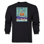 Fortaleza 2014 FIFA World Cup Brazil(TM) Host City Poster Men's LS T-Shirt (Black)
