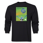 Natal 2014 FIFA World Cup Brazil(TM) Host City Poster Men's LS T-Shirt (Black)