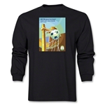 Salvador 2014 FIFA World Cup Brazil(TM) Host City Poster Men's LS T-Shirt (Black)