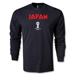 2014 FIFA World Cup Brazil(TM) Japan Core LS T-Shirt (Black)