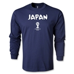 2014 FIFA World Cup Brazil(TM) Japan Core LS T-Shirt (Navy)