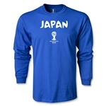 2014 FIFA World Cup Brazil(TM) Japan Core LS T-Shirt (Royal)