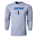 2014 FIFA World Cup Brazil(TM) Japan Core LS T-Shirt (Gray)