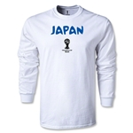 2014 FIFA World Cup Brazil(TM) Japan Core LS T-Shirt (White)