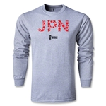 Japan 2014 FIFA World Cup Brazil(TM) Team LS T-Shirt (Gray)