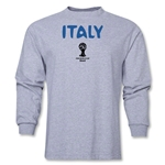 Italy 2014 FIFA World Cup Brazil(TM) Men's LS Core T-Shirt (Grey)