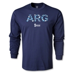 Argentina 2014 FIFA World Cup Brazil(TM) Men's LS Elements T-Shirt (Navy)