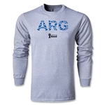 Argentina 2014 FIFA World Cup Brazil(TM) Men's LS Elements T-Shirt (Grey)