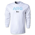Argentina 2014 FIFA World Cup Brazil(TM) Men's LS Elements T-Shirt (White)