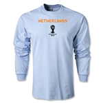 Netherlands 2014 FIFA World Cup Brazil(TM) Men's LS Core T-Shirt (Sky)