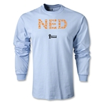 Netherlands 2014 FIFA World Cup Brazil(TM) Men's LS Elements T-Shirt (Sky)
