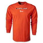 Netherlands 2014 FIFA World Cup Brazil(TM) Men's LS Palm T-Shirt (Orange)