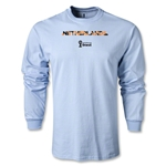 Netherlands 2014 FIFA World Cup Brazil(TM) Men's LS Palm T-Shirt (Sky)
