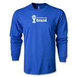 2014 FIFA World Cup Brazil(TM) Landscape LS T-Shirt (Royal)
